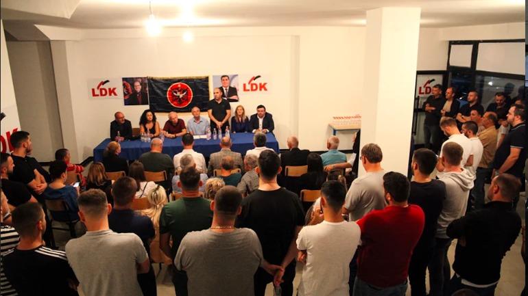 LDK: Deremahalla e Gjilanit konfirmon mobilizimin e jashtëzakonshëm të LDK'së për zgjedhjet e 6 tetorit
