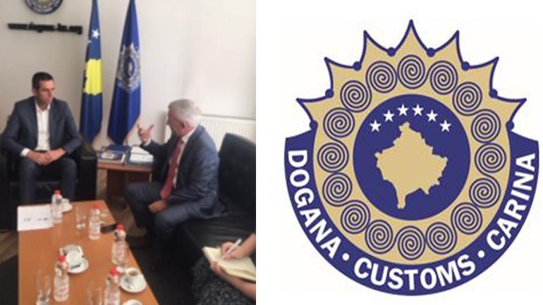 Ambasadori i Shqipërisë vizitoi Doganën
