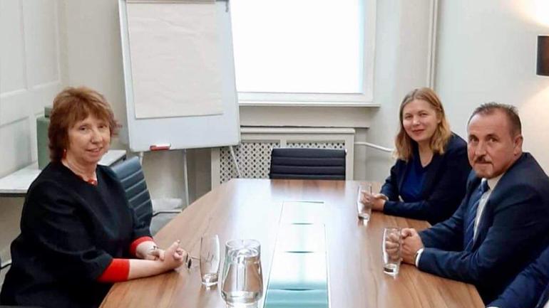 Ministri Mustafa u takua me Baroneshën Catherine Ashton