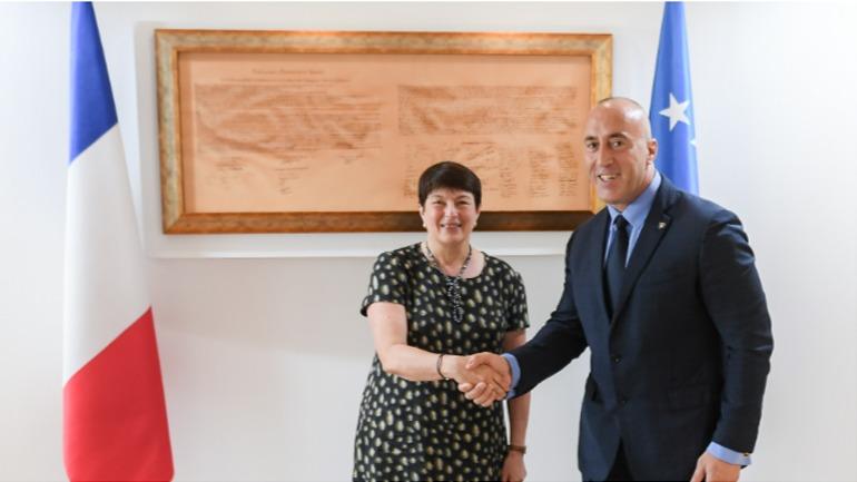 Kryeministri në detyrë priti në takim njohës Ambasadoren e re të Francës