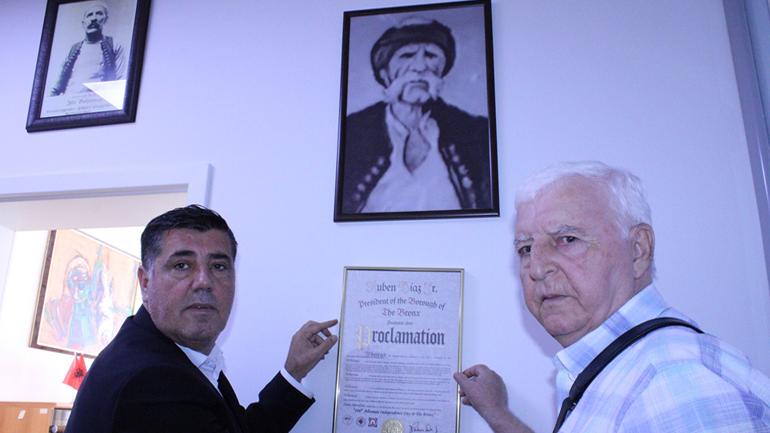 Kryetari Haziri pret në takim veprimtarin dhe kryengritësin për të drejtat e shqiptarëve, Ibrahim Arifi