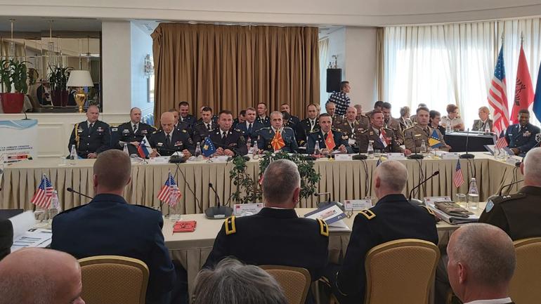 """Gjenerallejtënant Rrahman Rama mori pjesë në konferencën """"Karta e Adriatikut A5"""""""