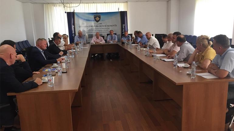 U mbajt takimi i radhës i grupit për Menaxhimin e Integruar të Kufirit