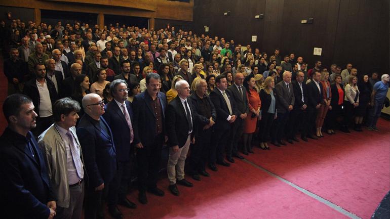 """""""Qendra"""", """"Iliria"""" e """"Deremahalla"""" i bëjnë pritje të jashtëzakonshme pesë kandidatëve për deputetë nga LDK e Gjilanit"""