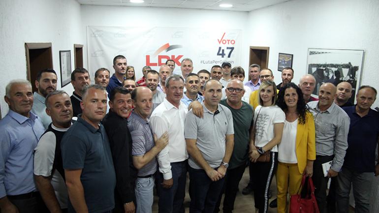 LDK e Gjilanit vazhdon takimet mobilizuese