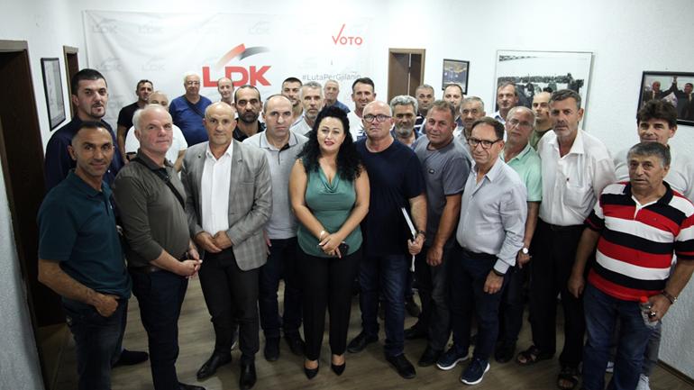 Mehmeti: Mobilizimi i LDK së Gjilanit në mbështetje të Vjosa Osmanit dhe ekipit të madh, shembull për Kosovën