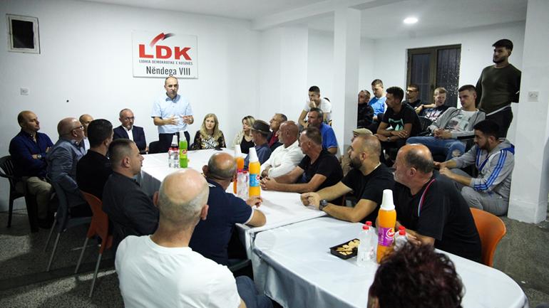 Nënshtabi i Lagjës VIII në Gjilan: Po vie forca e ndryshimit në krye me LDK'në