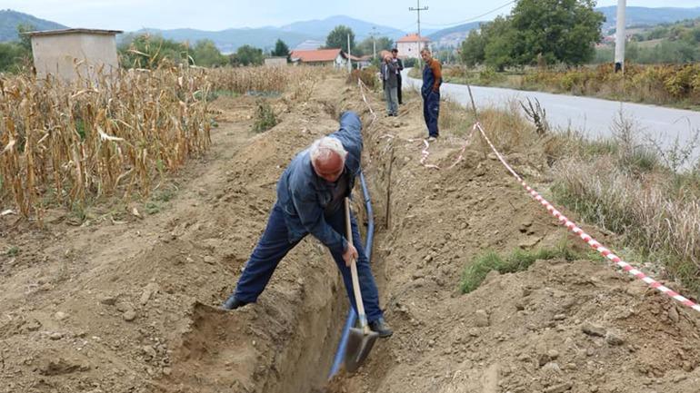 Vazhdojnë punimet për funksionalizimin e dy puseve të ujit