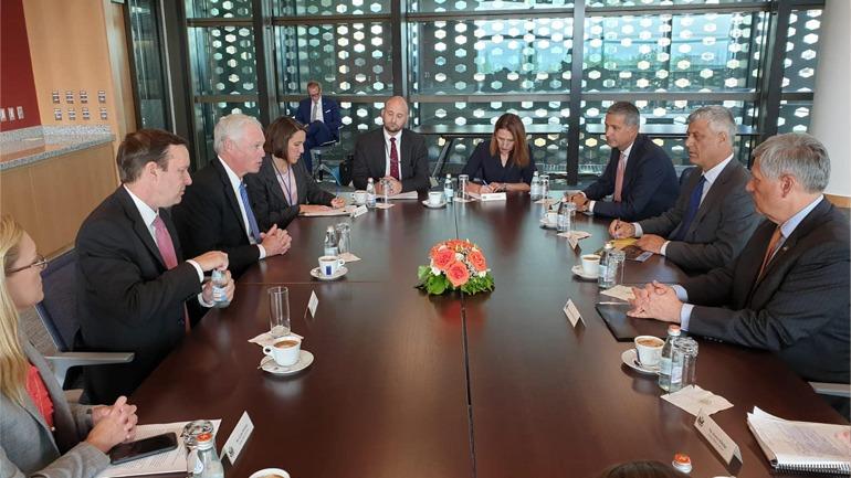 Presidenti Thaçi: Mbështetja e Shteteve të Bashkuara të Amerikës është unike