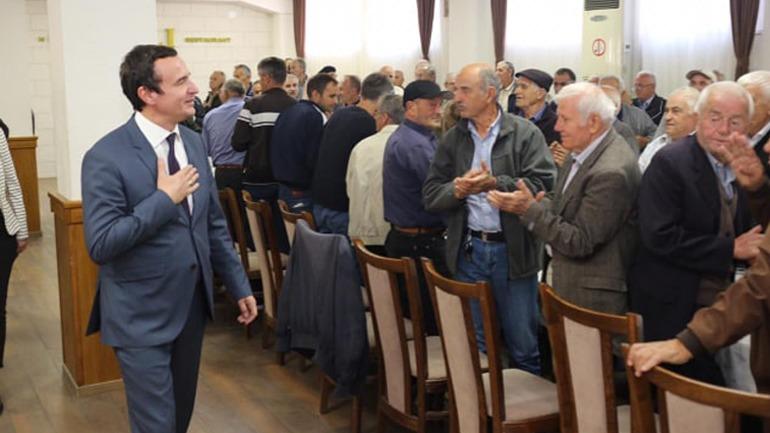Albin Kurti: Kthimi i pensioneve të grabitura, kusht për dialog me Serbinë