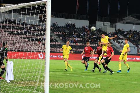 Shqipëria U21 mposht minimalisht Kosovën U21