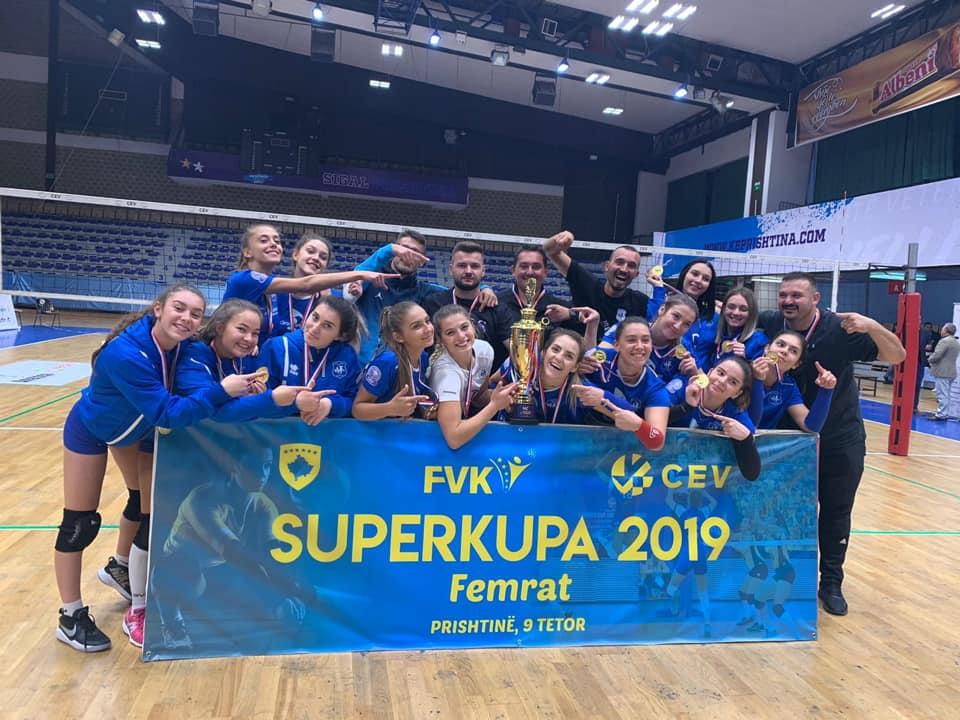 Vashat e Dritës nuk dorëzohen, fitojnë Superkupën e Kosovës 2019