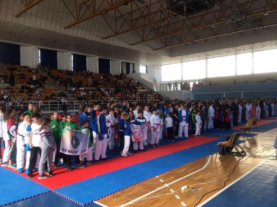 """Gjilani zhvilloi turneun e XIV-të Ndërkombëtar të Karatesë """"Katana Open 2019"""""""