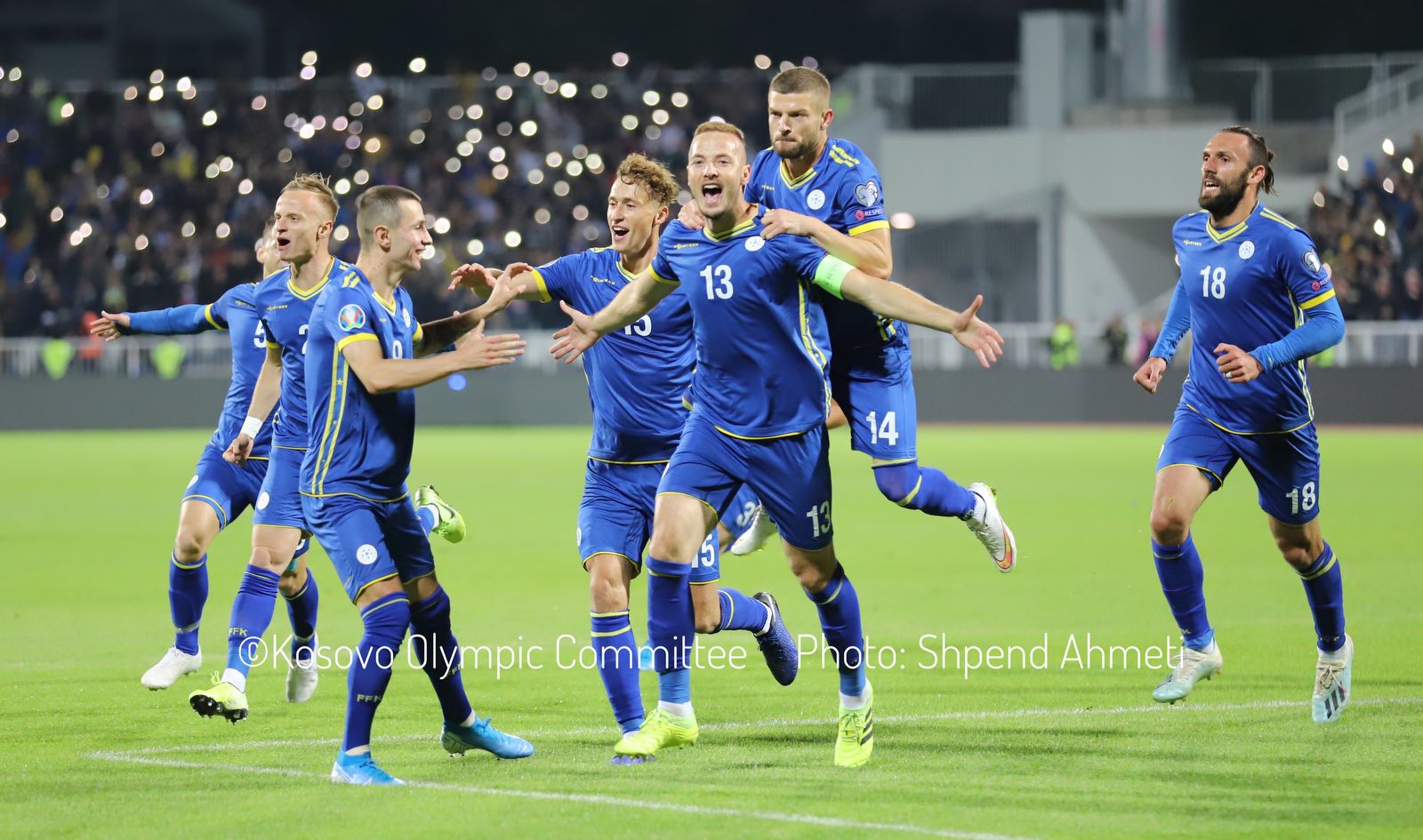 """""""Dardanët"""" me sfidën e radhës, sonte ndeshja ndaj Sllovenisë"""