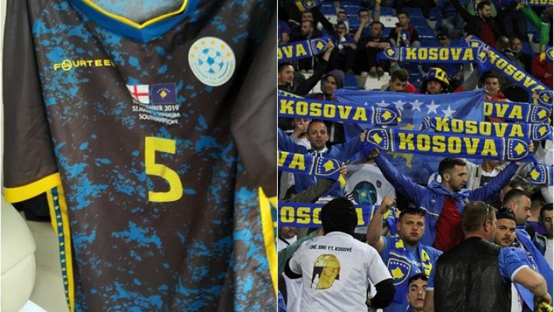 Kosova me tjetër fanellë speciale për ndeshjen ndaj Anglisë