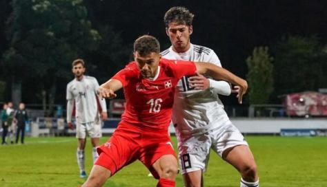Futbollisti shqiptar ia siguron fitoren Zvicrës U21
