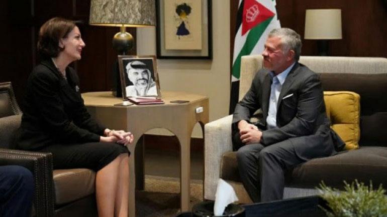 Ish-presidentja Jahjaga dhe Mbreti Abdullah i II-të flasin për marrëdhëniet e shkëlqyeshme mes dy shteteve