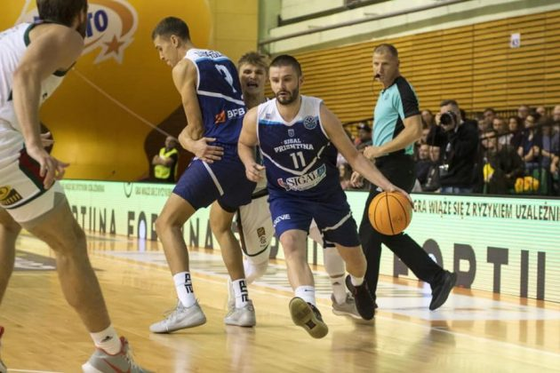 Prishtina nis mbarë sezonin në FIBA Europe Cup