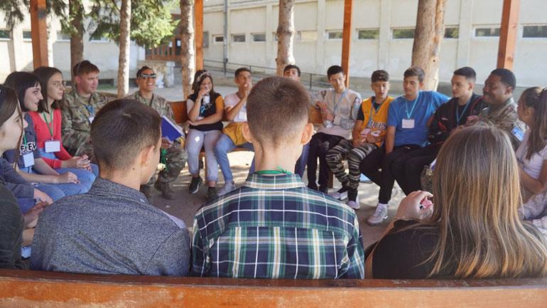 """Nxënësit e Kamenicës në programin """"Fuqizimi përmes Lojës"""""""