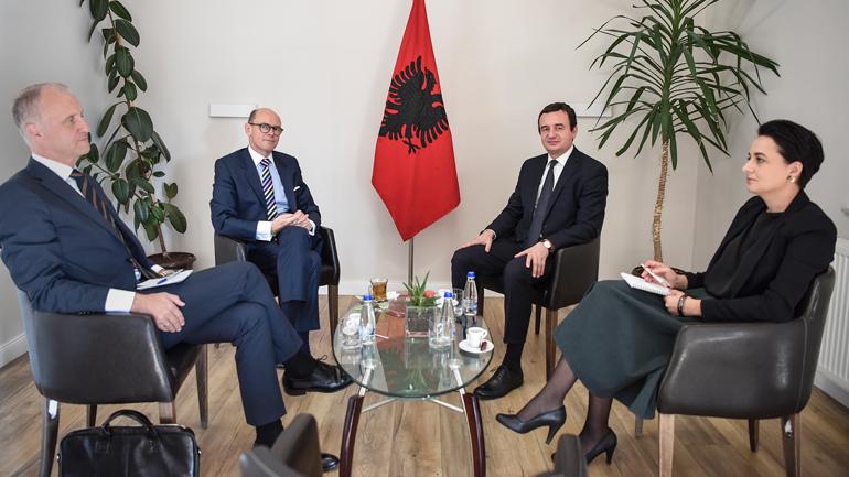 Albin Kurti takon përfaqësuesin special të Norvegjisë për Ballkanin Perëndimor
