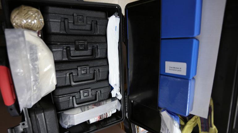 Policia e Kosovës pranon donacion të pajisjeve forenzike