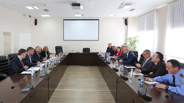 Policinë e Kosovës e vizitoi një delegacion nga Policia e Maqedonisë Veriore