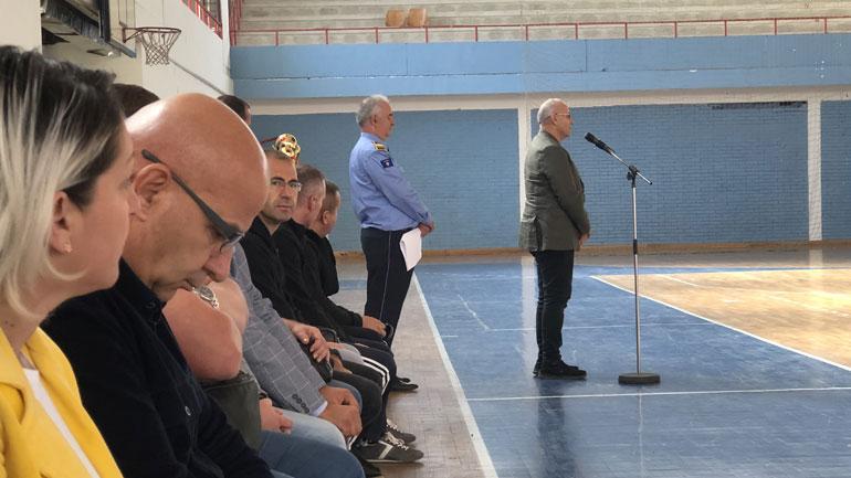 Sindikata e Policisë së Kosovës nderon zyrtarët e rënë në detyrë, organizon ngjarje sportive