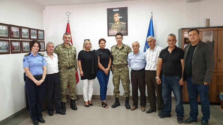 Policia e KFOR-i turk bisedojnë për mundësinë e bashkëpunimit në projekte të përbashkëta