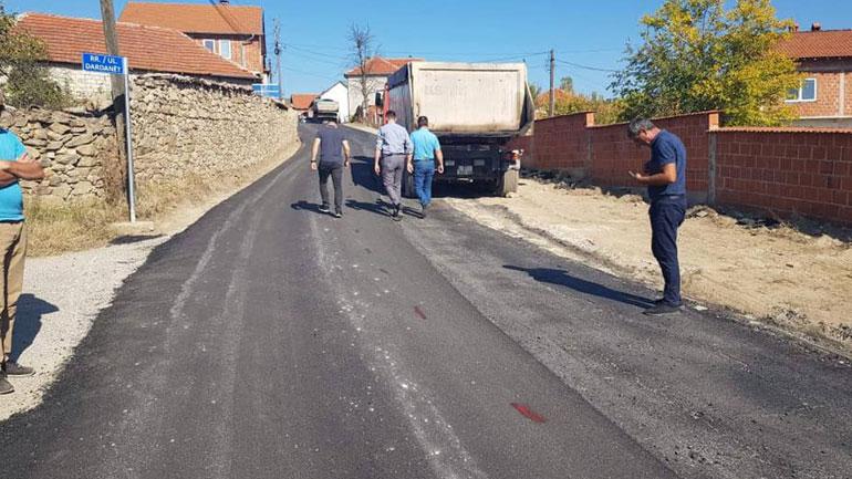 Bëhet rishtresimi i rrugës Novosellë – Karaçevë