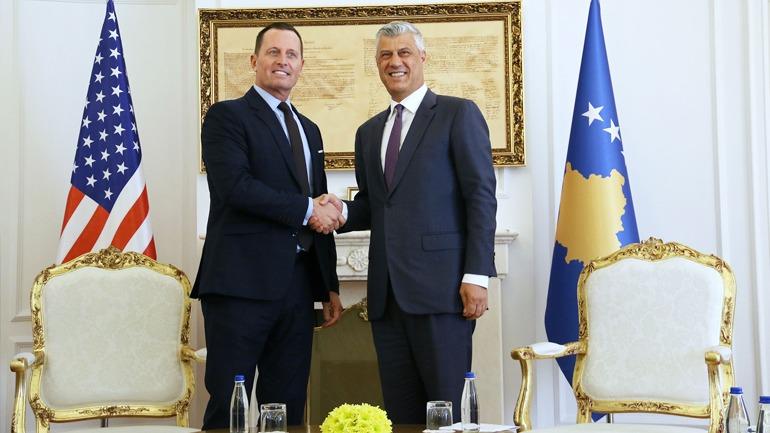Presidenti Thaçi priti në takim ambasadorin Richard Grenell