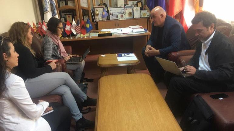 Kryetari i Vitisë diskutoi me konsulentët të UNDP-së lidhur me punën e projektit InTerDev2