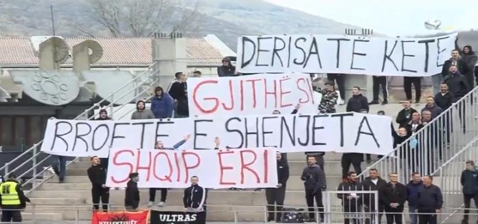 """""""Intelektualët"""" shpalosin mesazh përkrahës për Shqipërinë në ndeshje ndaj Ballkanit"""