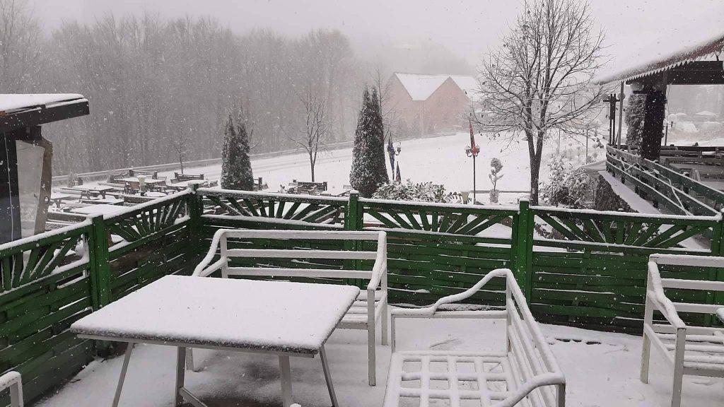 Brezovica dhe Prevalla mbulohet nga bora