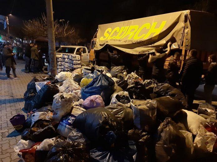 """""""Skifterat"""" e Gjilanit nisin kontigjentin e dytë me ndihma drejt Shqipërisë"""