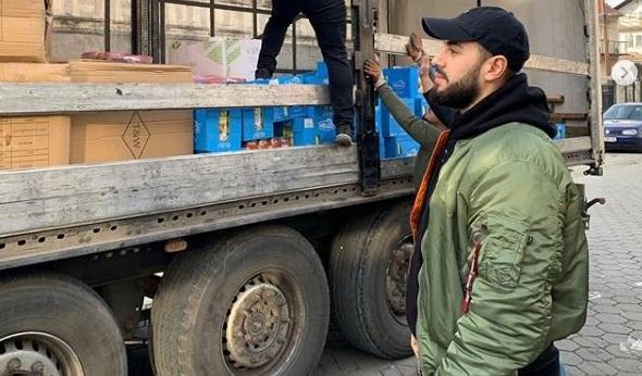 Capital T dërgon kamionin e mbushur me ndihma në Shqipëri