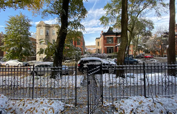 Chikago mbulohet nga bora e parë këtë vit
