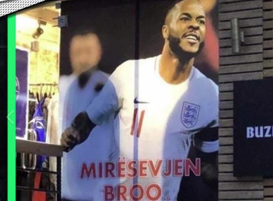 Bota po mahnitet me iniciativën e kosovarëve kundër racizmit para ndeshjes me Anglinë