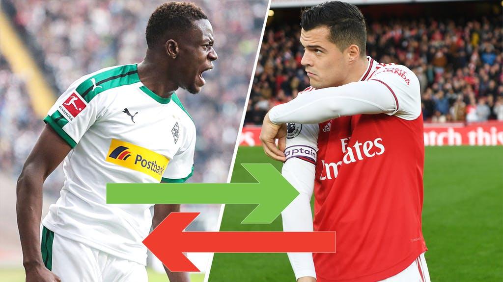Xhaka mund të rikthehet në Bundesligë, Arsenali po mendon ta shkëmbejë