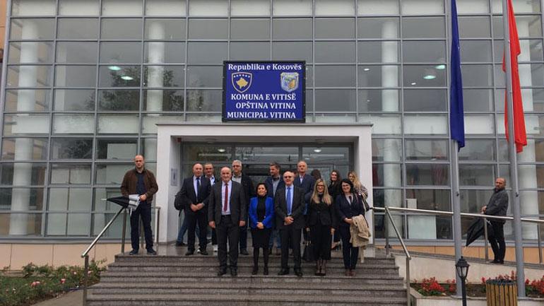 Përurohet objekti i ri i Administratës Komunale të Vitisë