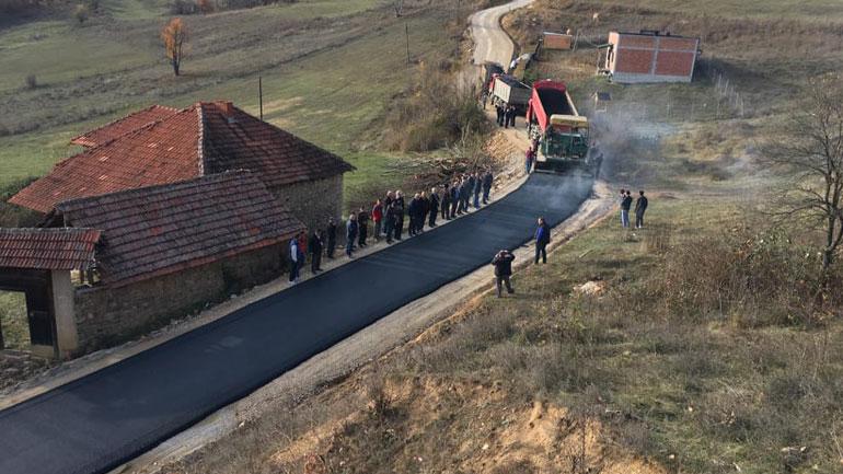 Po asfaltohet rruga Gjylekar – Stubëll e Poshtme