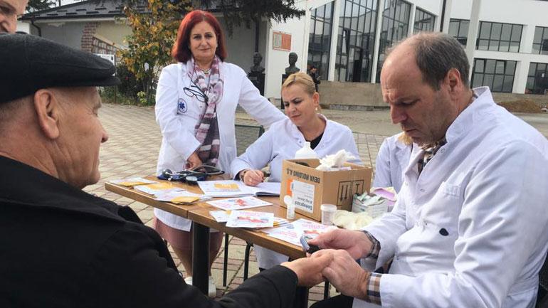 Komuna e Vitisë shënon Ditën Botërore të Diabetit