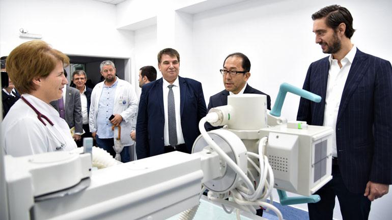 Qeveria Japoneze dhuron pajisje në vlerë 1.3 milion euro për QKUK