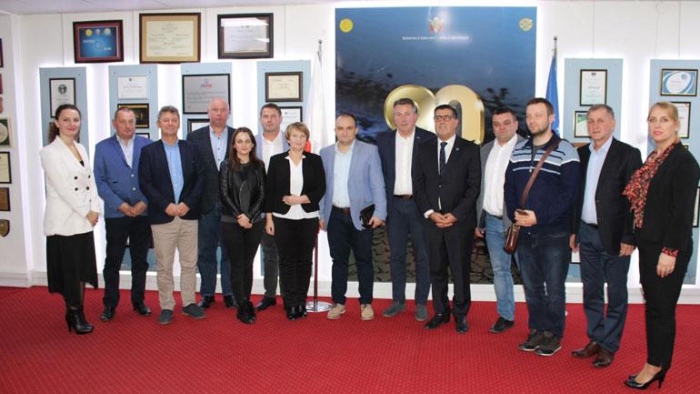 Lutfi Haziri, takim bashkëpunimi me kryetarë të disa komunave nga Polonia