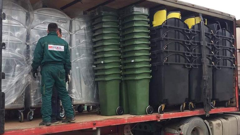 Komuna e Kamenicës pranon rreth 1500 kontejnerë nga GIZ-i