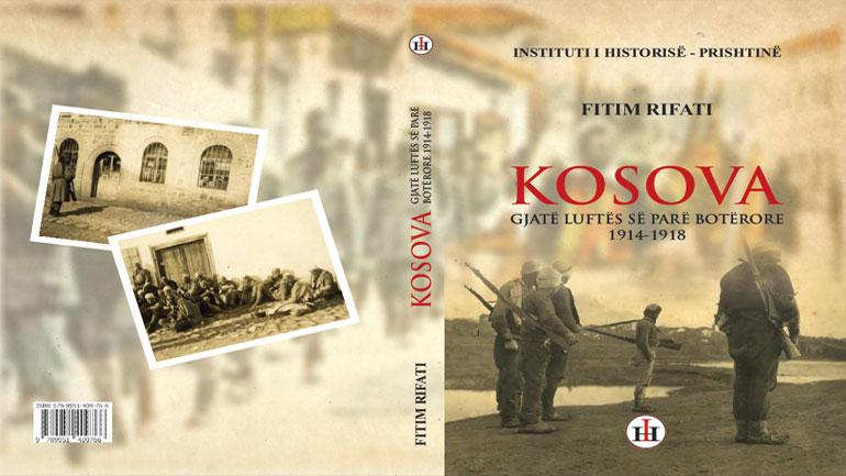 Monografi për Kosovën gjatë Luftës së Parë Botërore