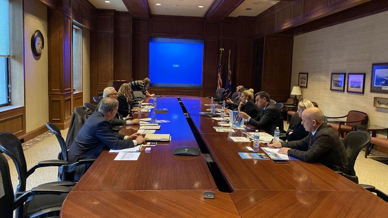 Oda Amerikane prezanton potencialet ekonomike të Kosovës në shtetin amerikan të Minnesotas
