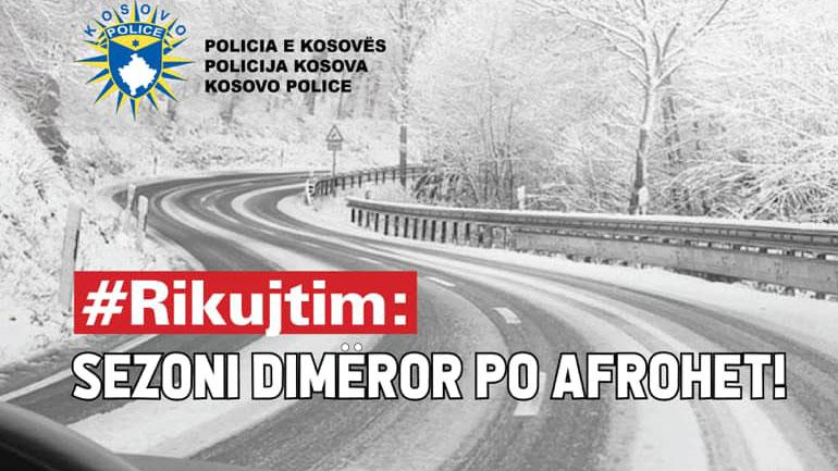 Policia: Përgatituni për sezonin dimëror