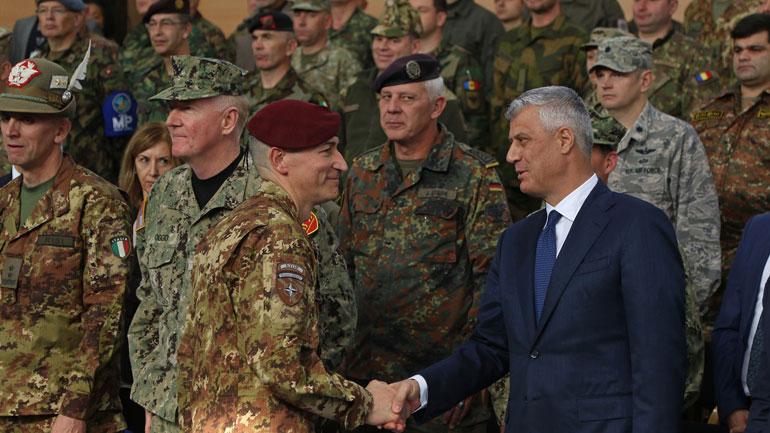 Thaçi : Kosova aspiron të jetë anëtare e NATO-s dhe të kontribuojë për paqen në botë