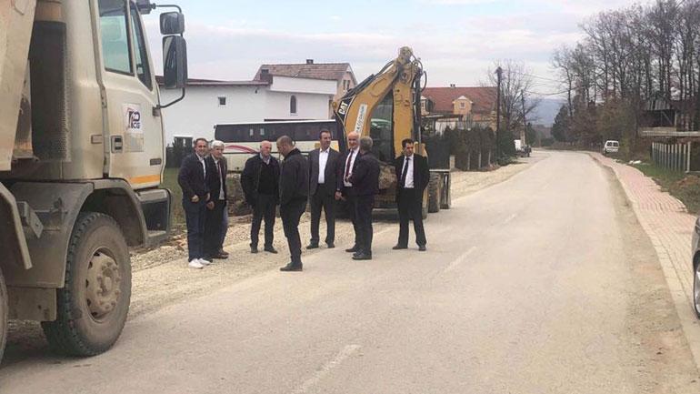 Haliti viziton Verbanin, sheh nga afër projektet infrastrukturore