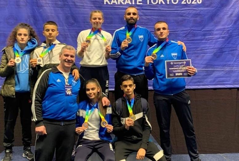 Drita – shtëpia e kampionëve, karateistët gjilanas shkëlqejnë në Kampionatin Shtetëror të Karatesë 2020
